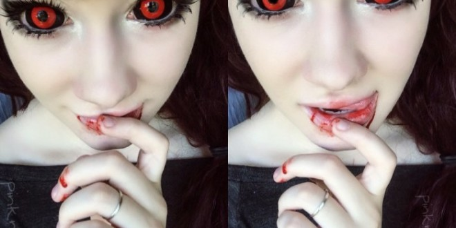 Prescription Colored Contacts Halloween whiteout halloween contacts pair Tokyo Ghoul Phantasee Sclera Contacts
